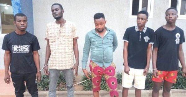 5 Nigerian Robbers Arrested In Ghana 1