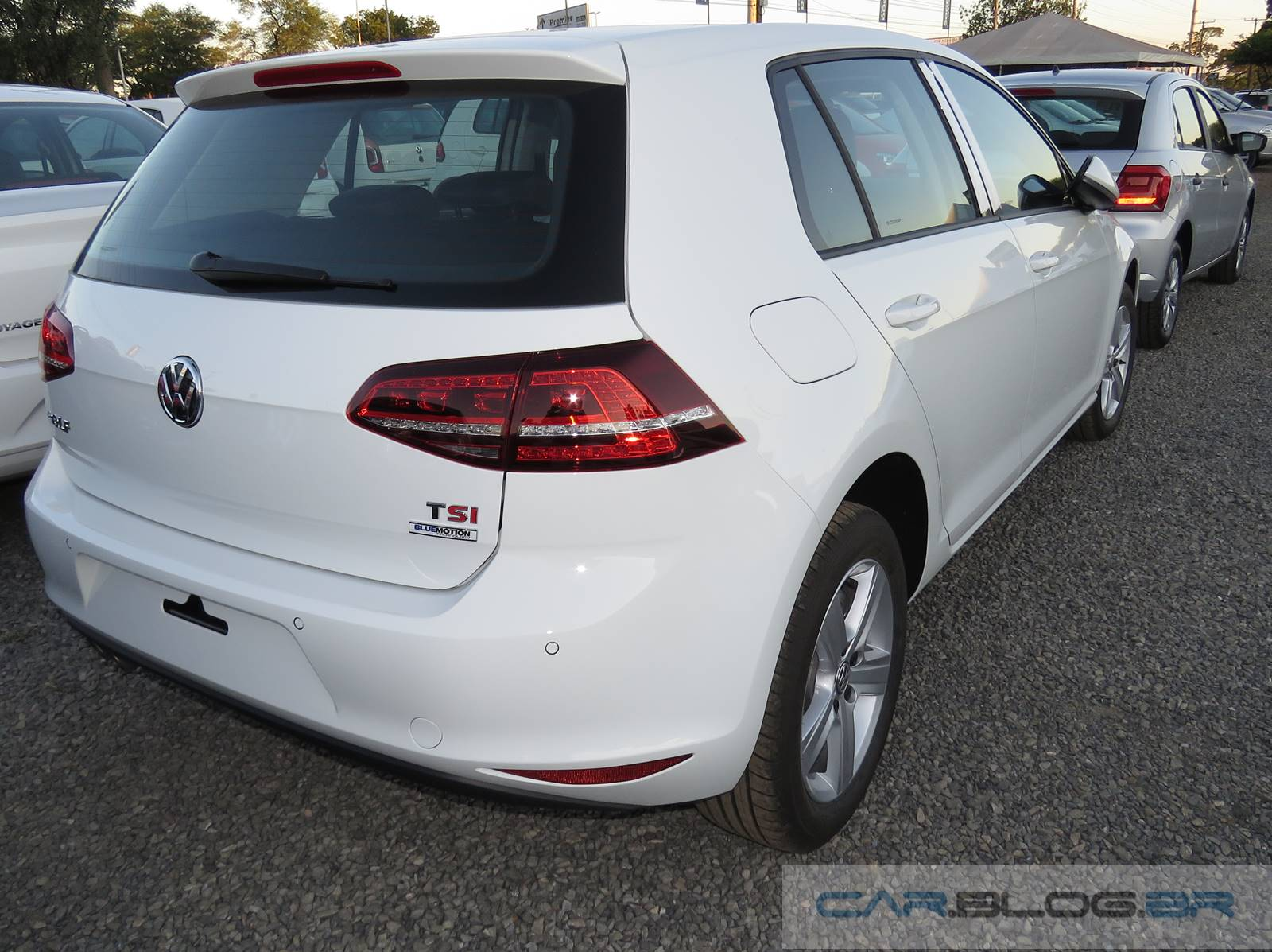 vw golf 1 4 tsi flex nacional fotos consumo desempenho car blog br. Black Bedroom Furniture Sets. Home Design Ideas