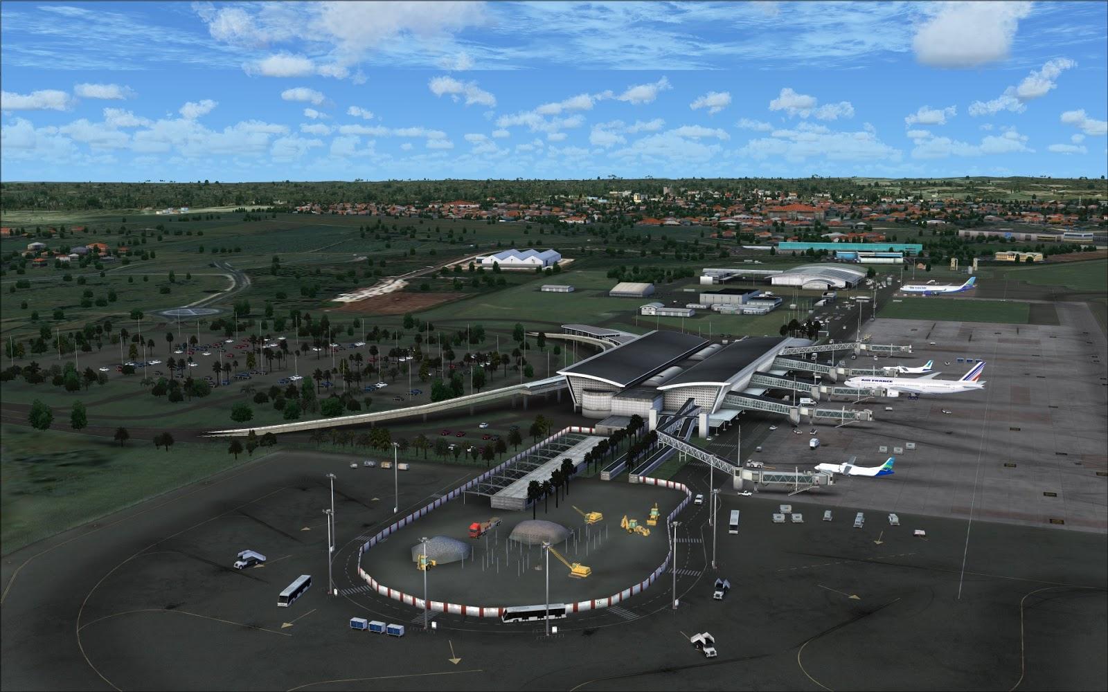 FSX/P3Dv3/P3Dv4] - TAXI2GATE - POINTE-À-PITRE LE RAIZET AIRPORT TFFR