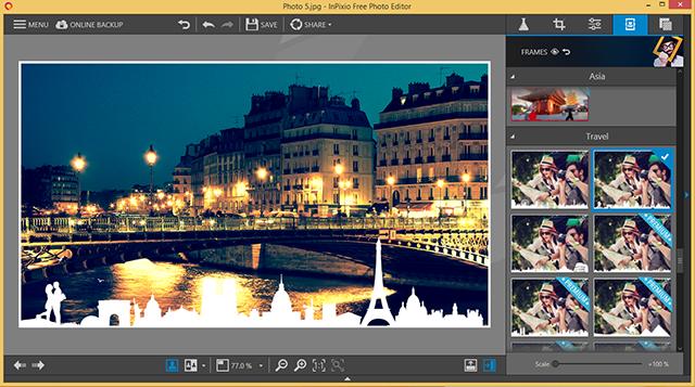 InPixio Photo Editor 10.0.7383.20654 With Crack Download