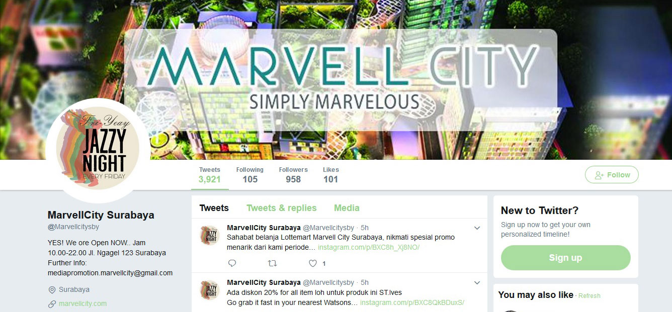 The Review of Marvel City Surabaya