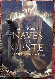 Portada del libro Naves del oeste, de Paul Kearney