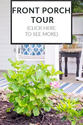 DIY Beautify front porch tour