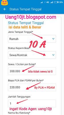 Pinjaman Tunaiku Kode Agen uang10jt Pinjaman uang Palembang