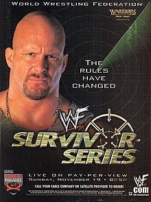 WWE / WWF Survivor Series 2000 - Event Poster