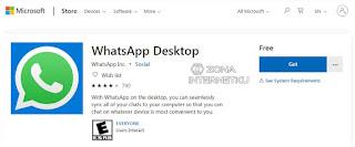 Aplikasi Whatsapp Dekstop Dari Microsoft Store