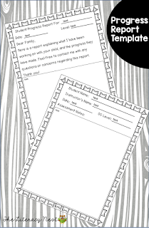 free progress report template