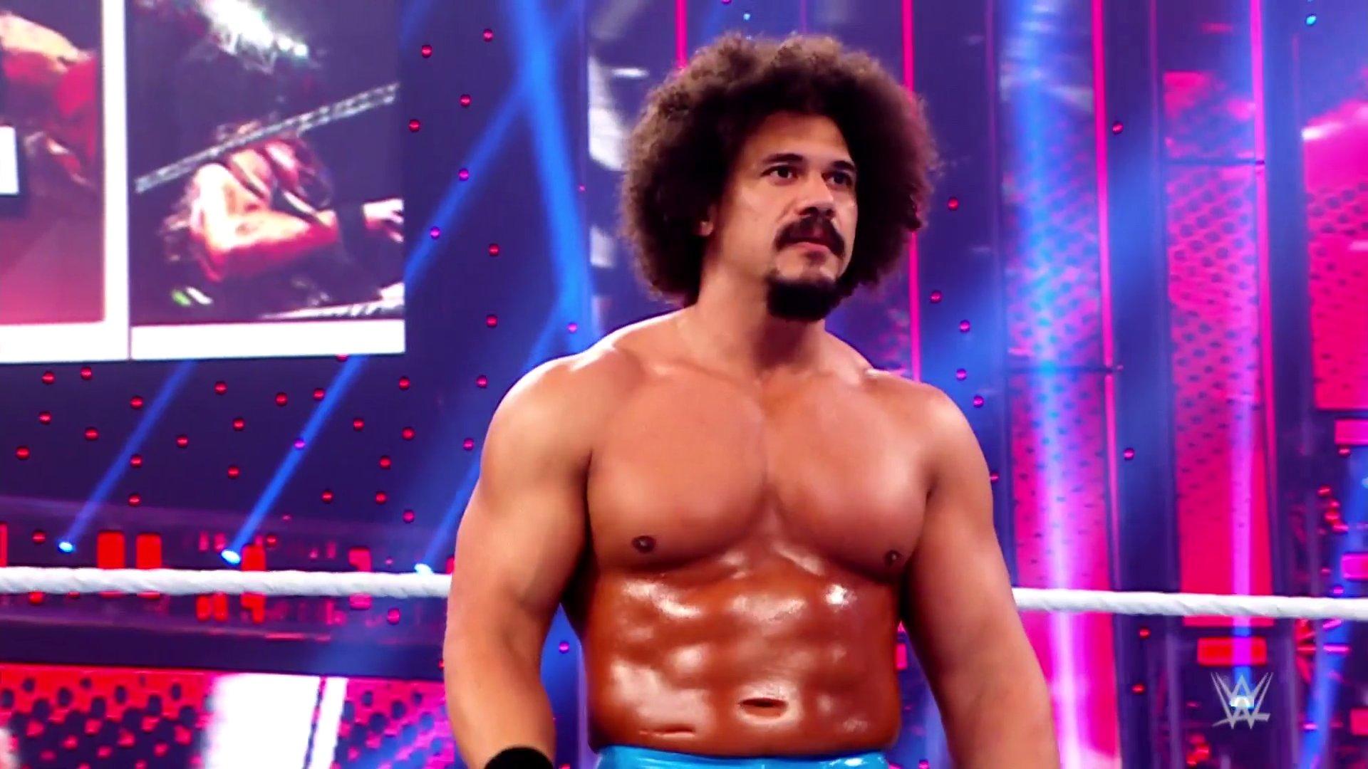 Carlito volta a lutar no WWE RAW após 10 anos