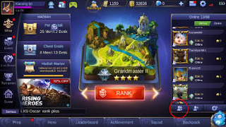 menu mobile legend