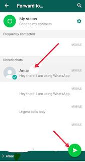WhatsApp Par Message Forward Kaise Kare
