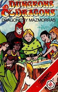 Baraja infantil Dragones y mazmorras Heraclio Fournier