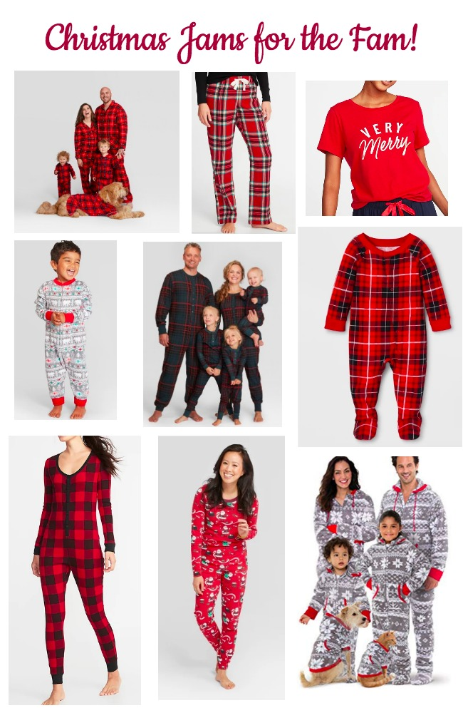 Christmas PJ's Round Up