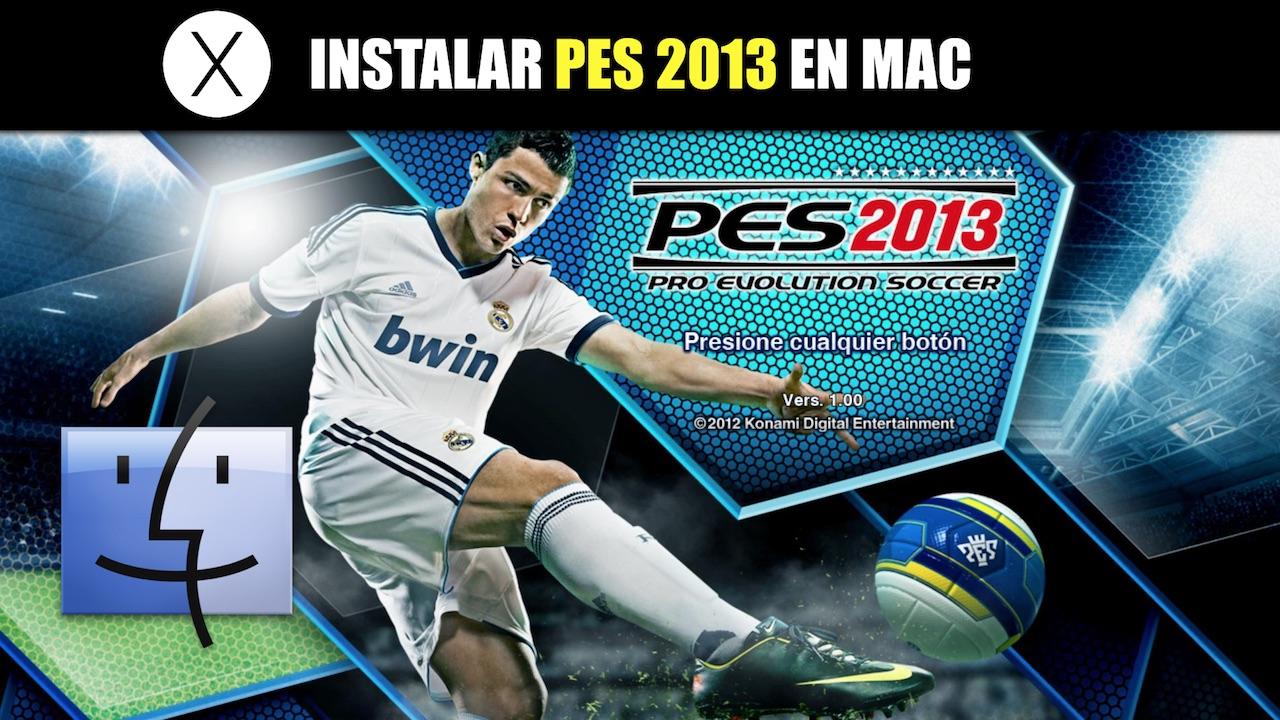 Pro evolution soccer mac