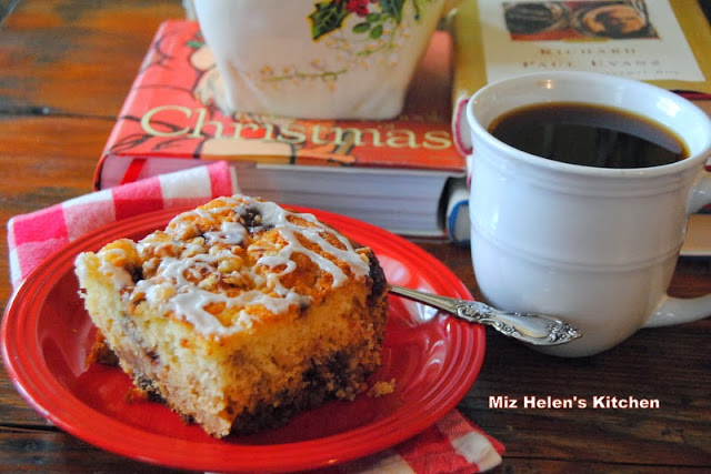 Spicy Cranberry Coffee Cake at Miz Helen's Country Cottage
