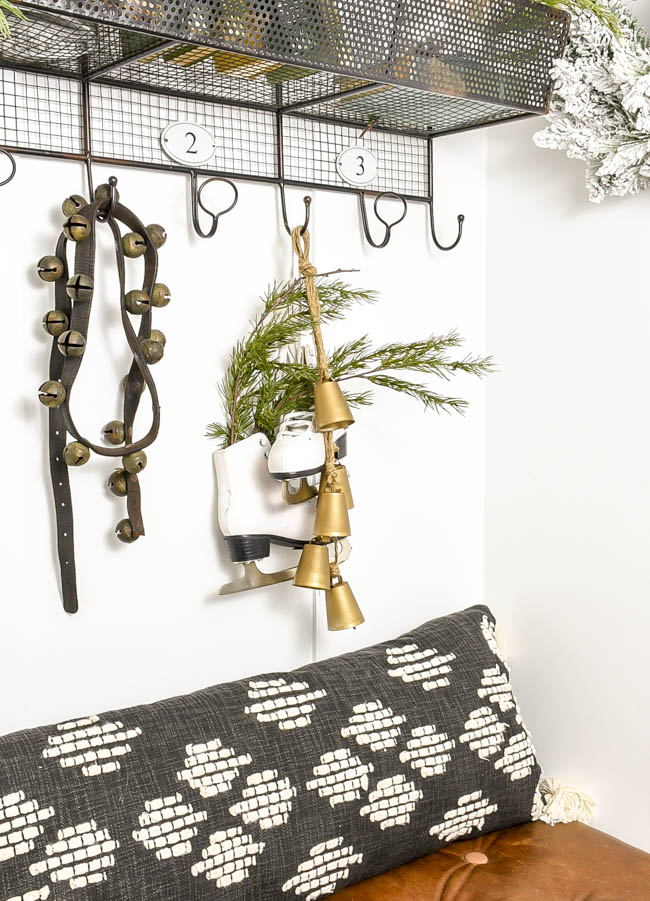 DIY brass bells using Dollar Tree supplies