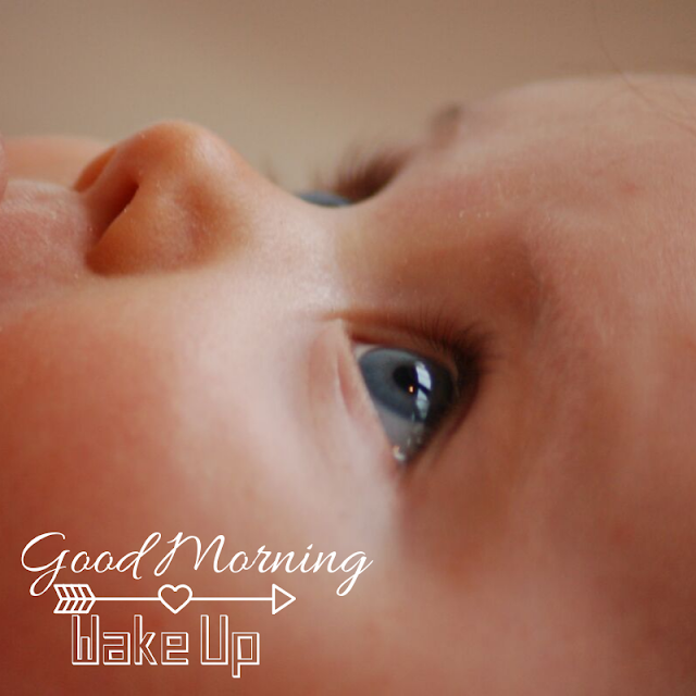 Pleased Baby Good Morning Images