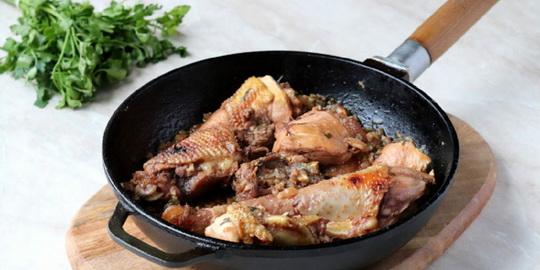 Гурули - курица по-гурийски