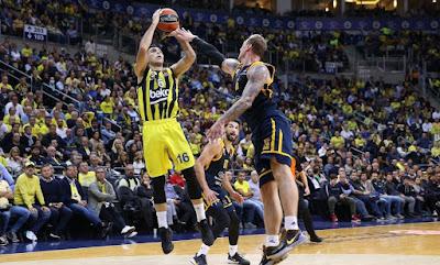 Kostas Sloukas | Fenerbahçe Beko - Khimki Moscow