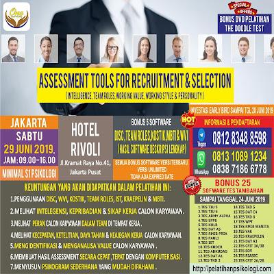 Workshop Psikologi Jakarta | Pelatihan Alat Tes Psikologi 2019 | WA: 0838-7186-6778