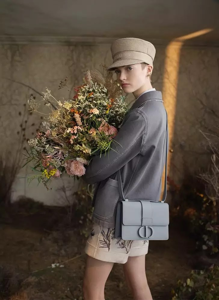 Ruth Bell fronts Dior Nature in Bloom summer 2020 campaign