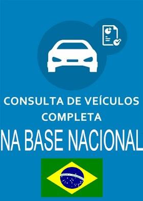 CONSULTA PLACA DE VEÍCULOS NA BASE NACIONAL