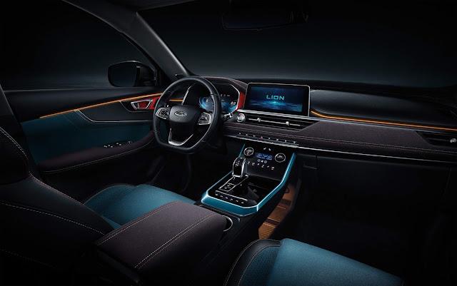 Novo Chery Tiggo 7 2020 (facelift) - interior