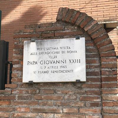 San Giovanni XXIII Sant'Ignazio d'Antiochia visita