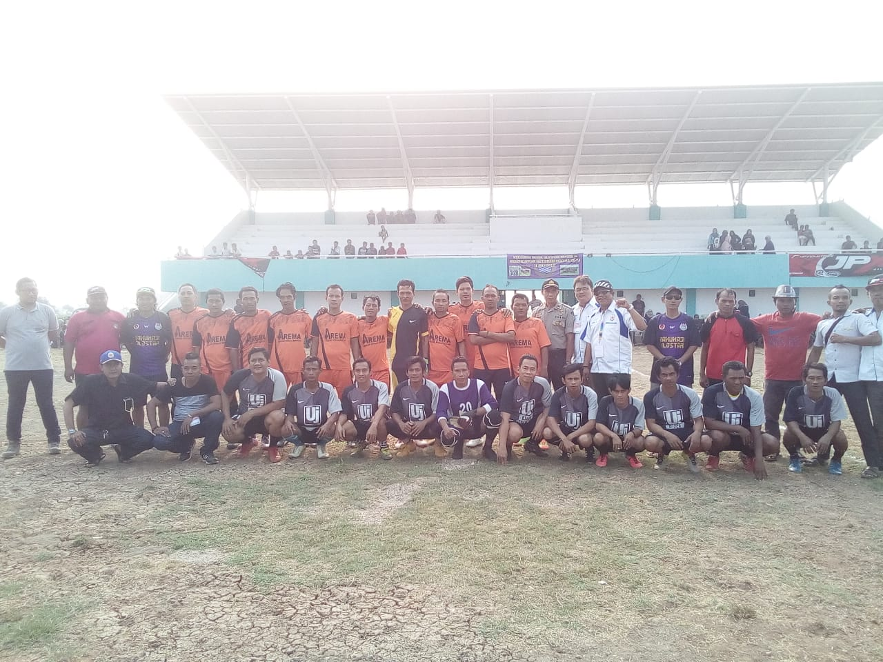 Meriahkan HUT RI Ke-74, Koni Kecamatan Pakuhaji Gelar Turnamen Sepak bola
