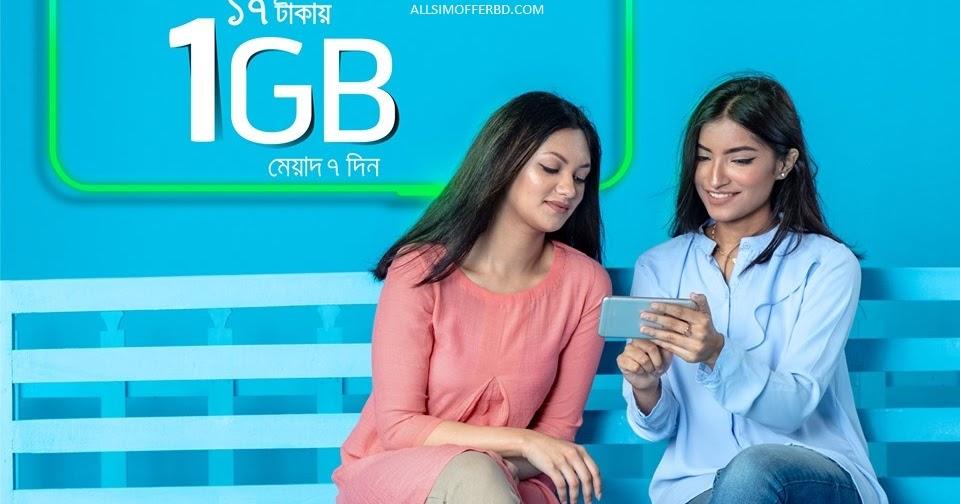 Grameenphone Bioscope Package | 1GB @17Tk - AllsimofferBD