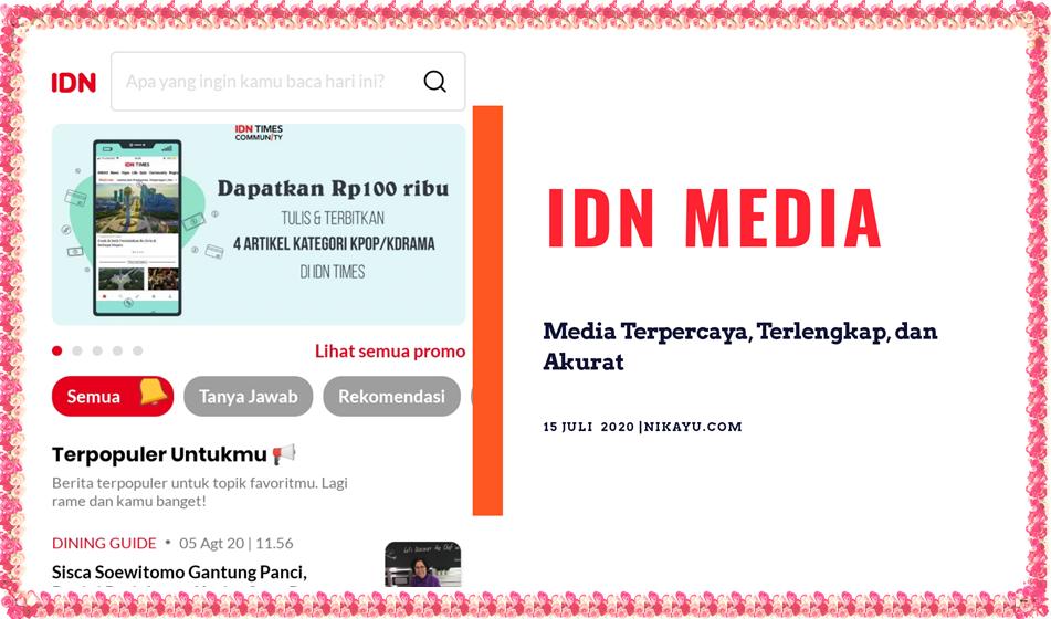 Download IDN Media App: Berita IDN Times Terlengkap