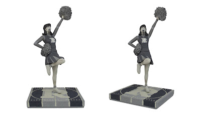 San Diego Comic-Con 2020 Exclusive Archie Comics Vampironica Black and White Polystone Statue by Icon Heroes