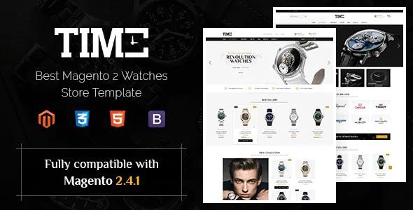 Best Modern Magento 2 Watch Store Theme