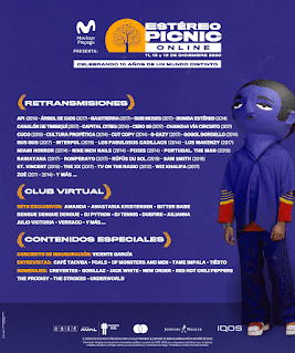 POZ ESTEREO PICNIC Online 2020