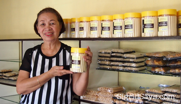 Clara's goat's milk barquillos. Bacolod pasalubong