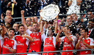 Kalahkan Chelsea, Arsenal Raih Trofi Community Shield