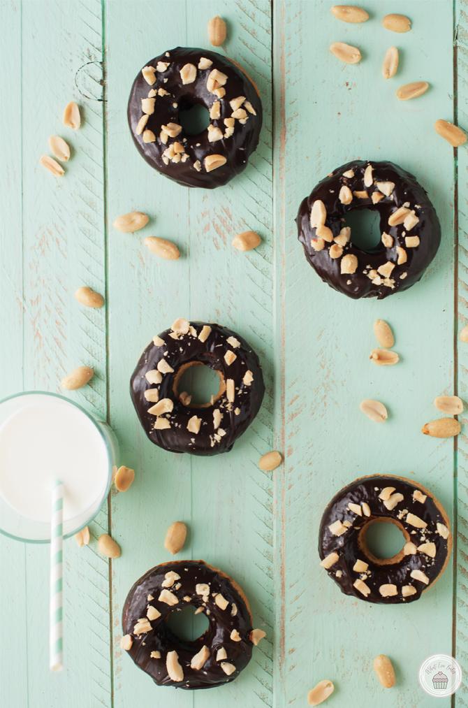 Peanut Butter Donuts