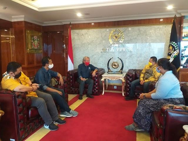 MPR dan IWO Sepakat Bekerja Sama Majukan Peradaban dan Kemanusiaan Bangsa Indonesia