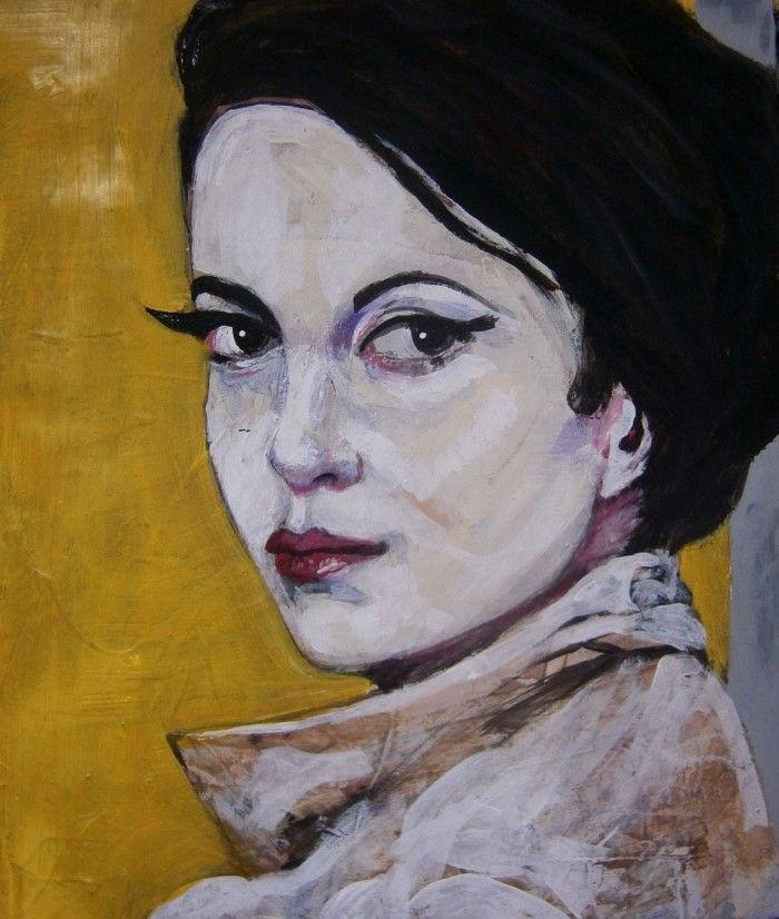 Портретная живопись. Richard Kuhn