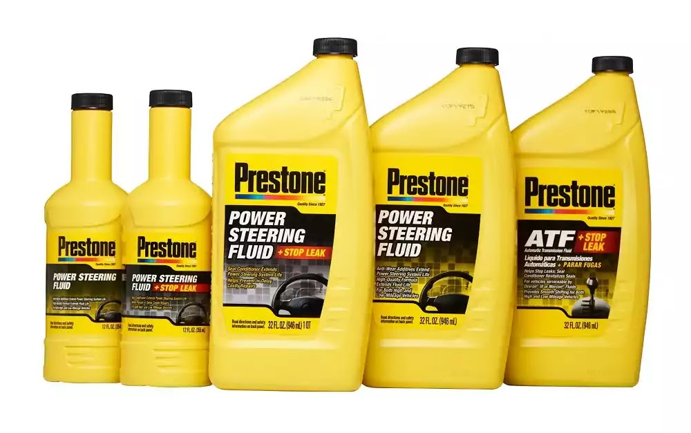 Prestone's New Auto Transmission and Power Steering Fluids