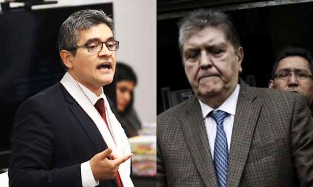 Fiscal José Domingo Pérez, Alan García