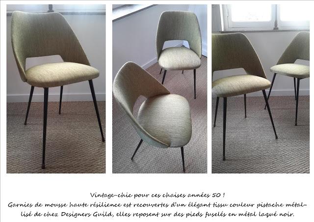Paire de chaises Guariche