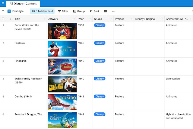 Disney Plus Guide Screenshot
