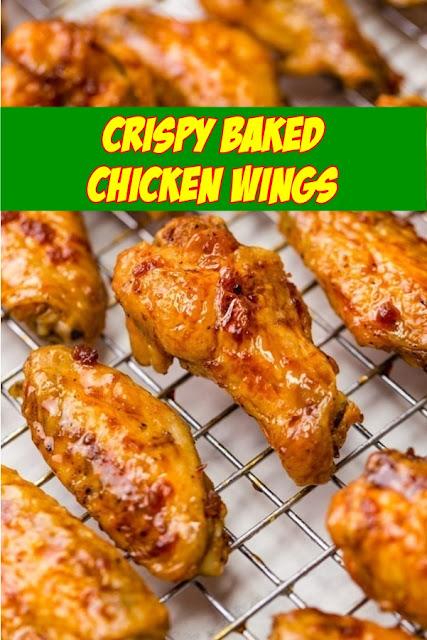 #Crispy #Baked #Chicken #Wings