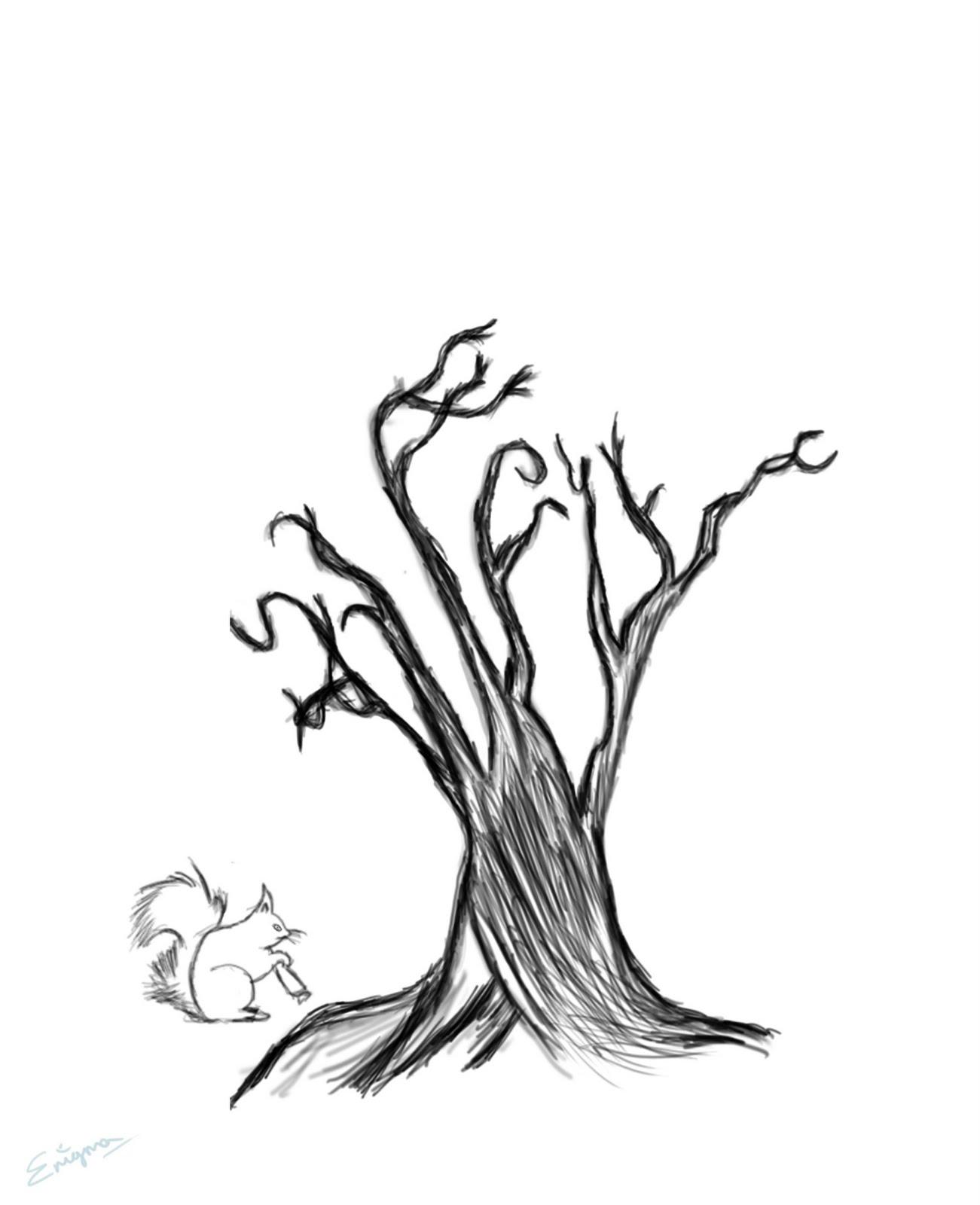 Graphics N 3d Surreal Tree Landscape