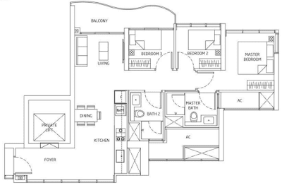 Queens Peak Floorplan4