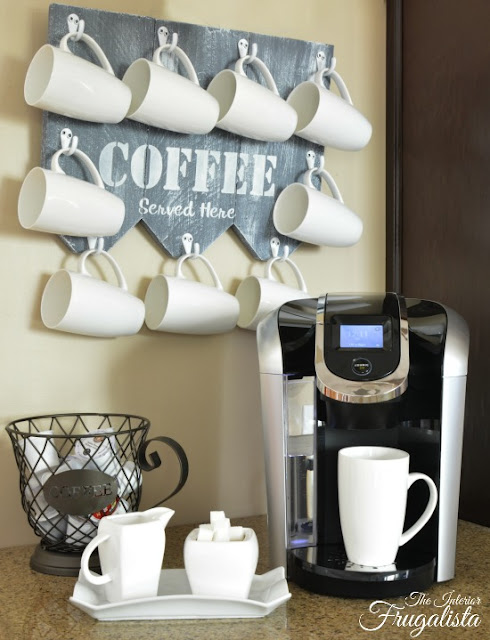 coffee mug holder diy