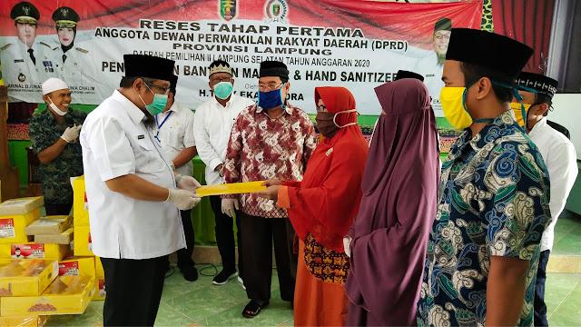 Ketua Fraksi Golkar DPRD Lampung Ajak Ormas Islam Lawan Covid-19