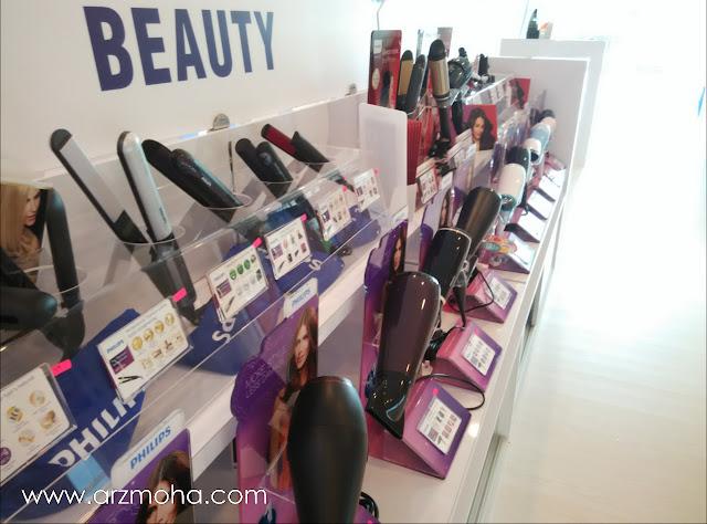 produk penjagaan kecantikan wanita, philips experience store penang, philips bayan baru, philips showroom,