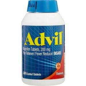 Viên Uống Giảm Đau Hạ Sốt Advil Ibuprofen Tablets 200mg Xách Tay Mỹ