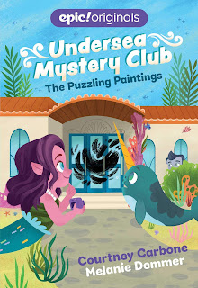 Undersea Mystery Club: The Puzzling Paintings